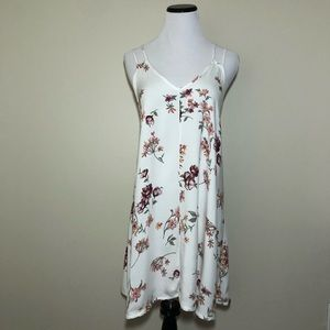 Brandy Melville John Galt Floral Slip Dress OS